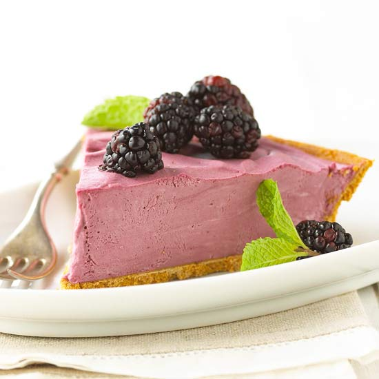 My Favorite Things: Black Raspberry Cream Pie