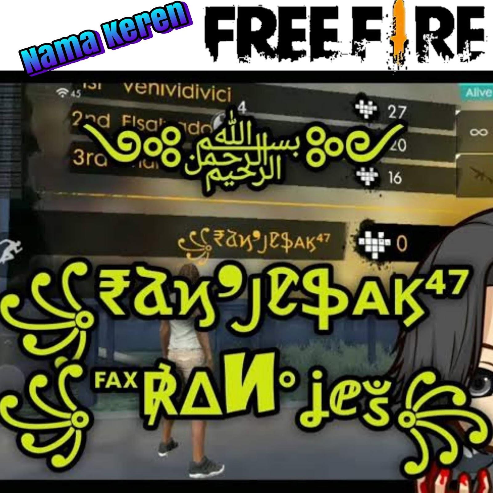 55 Gambar Free Fire Paling Keren HD Terbaru