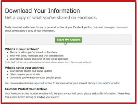 how to retrieve deleted messages on facebook account