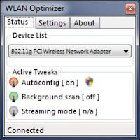 Download Wlan Optimizer 0.21 Alpha free