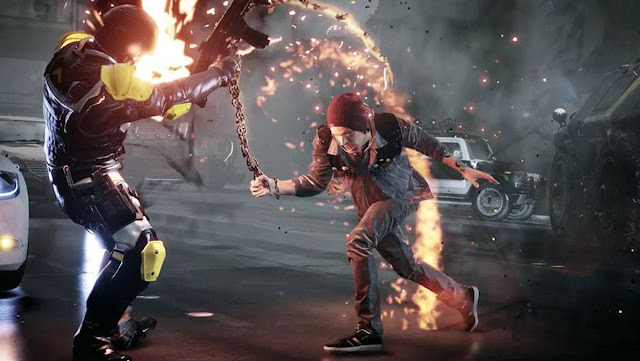 inFamous Second Son corre a 60 FPS en PS5 - No Soy Gamer