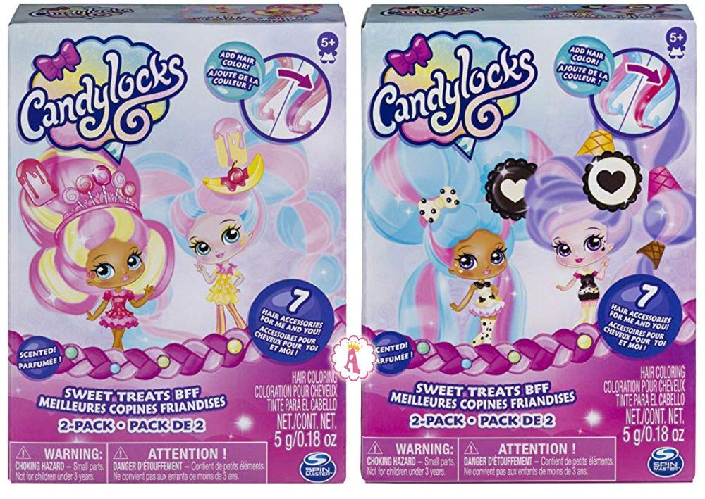 Candylocks куклы с длинными волосами из сахарной ваты