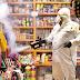 Alfonso Martínez apoya al Mercado de Dulces con jornada de sanitización