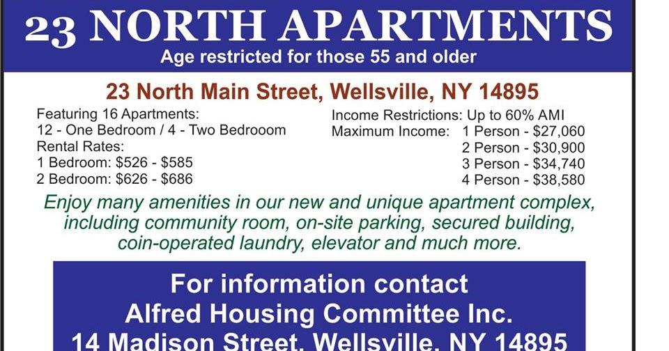 Wellsville Regional News Dot Com Wellsville 23 North
