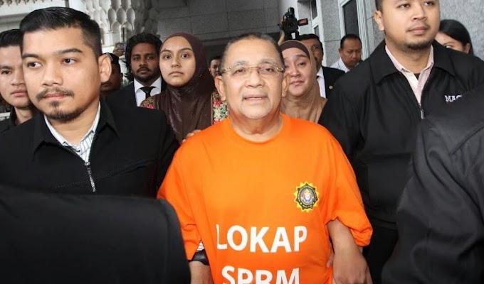 """""""Kod rahsia"""" cara Isa Samad minta duit rasuah terbongkar di mahkamah"""