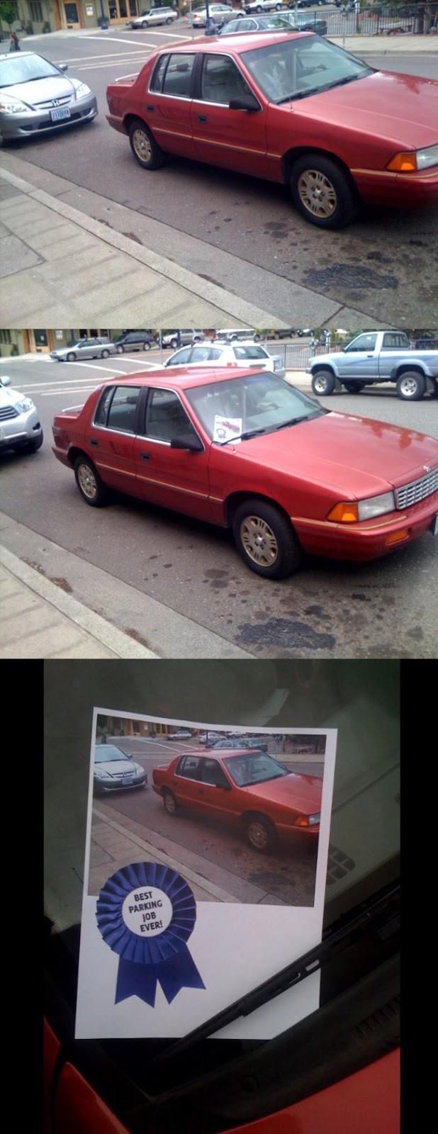 15 vinganças a maus estacionamentos