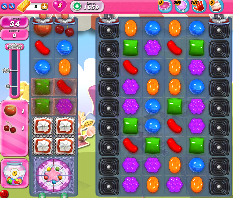 Candy Crush Saga 1659