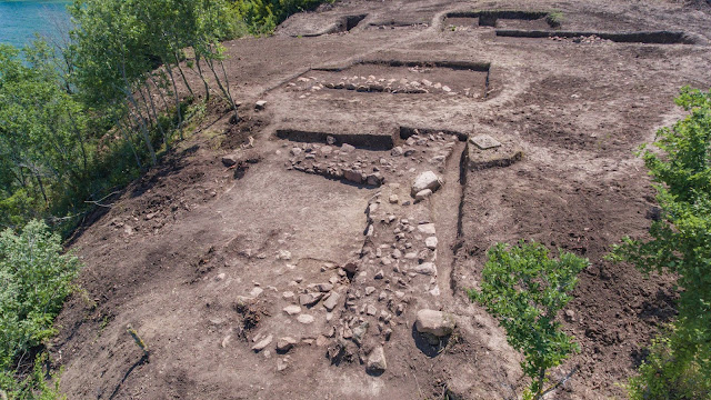 Observation tower, ancient sanctuary from Hellenistic era found near Bulgaria's Burgas