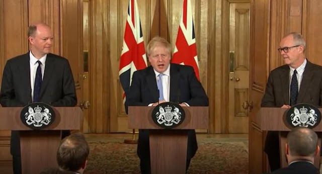 Boris Johnson coronavirus press conference