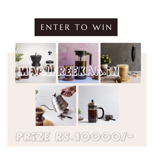 FREE InstaCuppa Coffee Maker Bundle Valued At Rs.10000/-