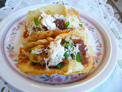 MEXICAN SHREDDED CHICKEN CHEESE TACOS AND CHEESE WRAPS