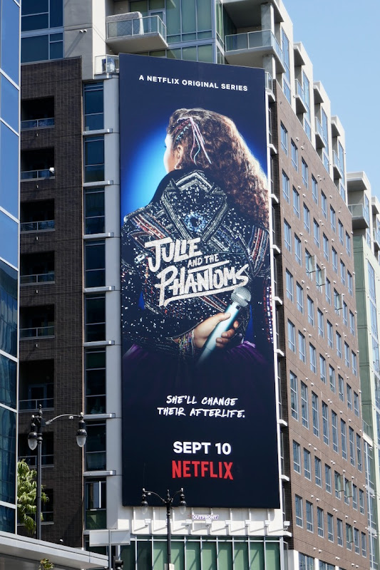 Julie and Phantoms Netflix billboard