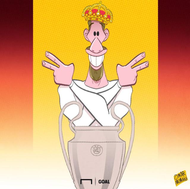 Sergio Ramos illustration