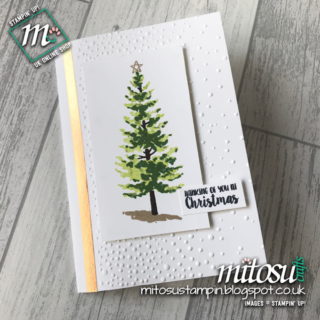 Handmade card using Season Like Christmas by Stampin' Up! from Mitosu Crafts UK Online Shop