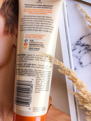 Крем шампунь Neutrogena, Triple Moisture