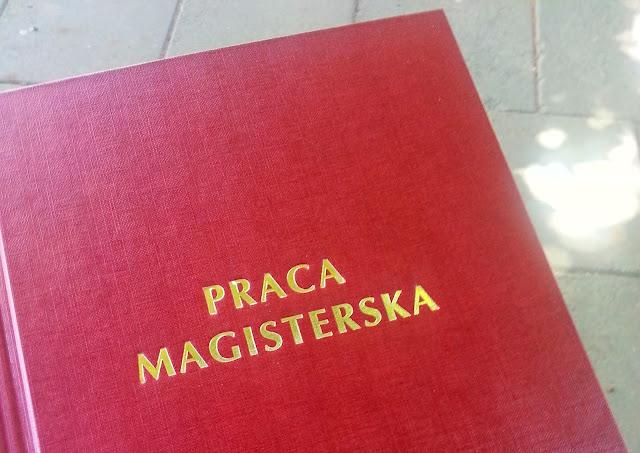 Drugi tytuł magistra i mnóstwo pracy