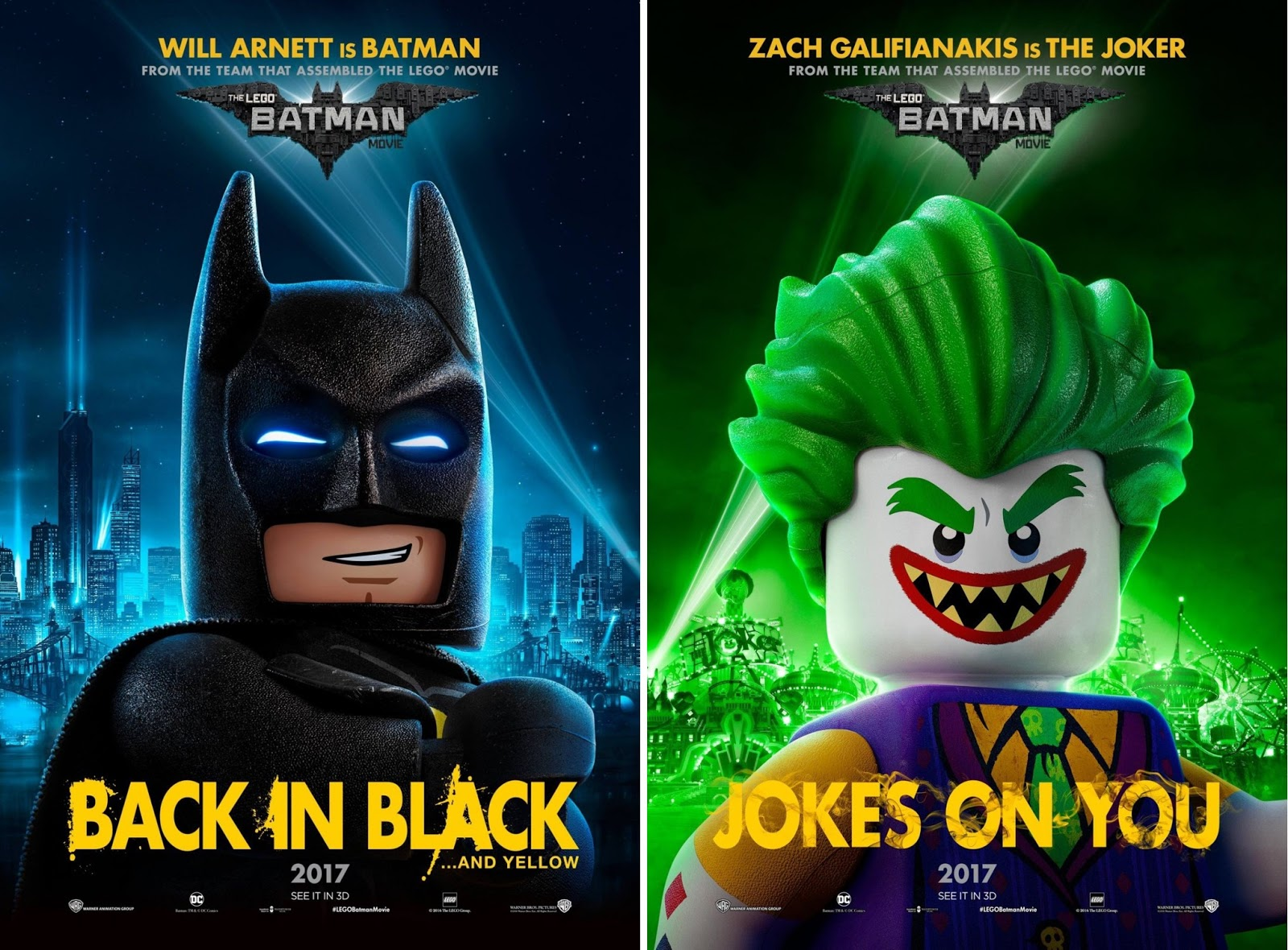 The Blot Says Lego Batman Movie Character Poster Set 1 Tee
