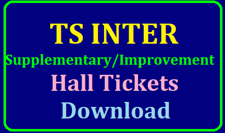TS Inter 1st & 2nd Year Supplementary/Improvement Hall Tickets 2019 Download TS Inter Supply Hall Tickets 2019 Download (Released) For 1st Year & 2nd Year @ bie.telangana.gov.in | TS Inter 1st & 2nd Year Supplementary/Improvement Hall Tickets 2019 | TS Intermediate Public Advanced Supplementary Exam Admit Card Download TS Inter 1st,2nd Year Advance Supply Time Table,Hall Tickets June-2019 | TS Inter Advanced Supply Hall Tickets: Inter Hall Tickets 2019 TS Inter Supplementary Hall Tickets 2019 for 1st year & 2nd year : /2019/06/TS-telangana-inter-advanced-supplementary-betterment-improvement-hall-tickets-download-bie.telangana.gov.in.html