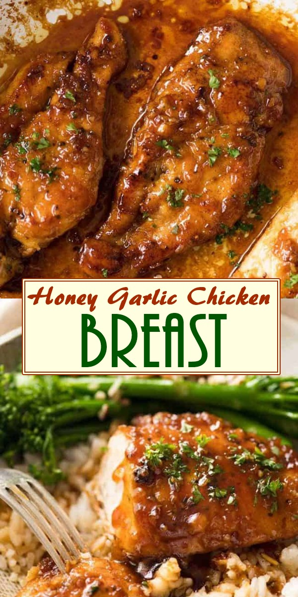 Honey Garlic Chicken Breast #chickenrecipes
