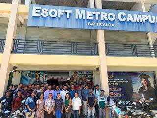 Microsoft Power BI Session at ESOFT Metro Campus - Batticaloa.