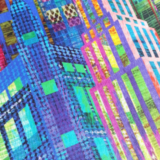 Digital printing gives this cotton fabric such a high quality print