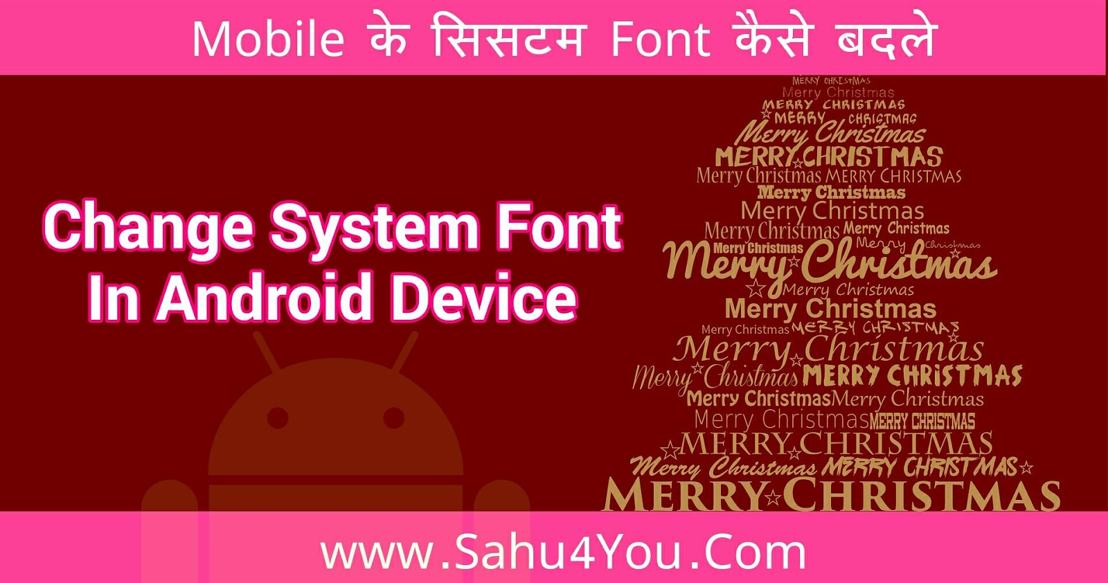 How To Change System Fonts In Android Device Full Guide