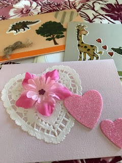 Homemade Cards, Living From Glory To Glory Blog...