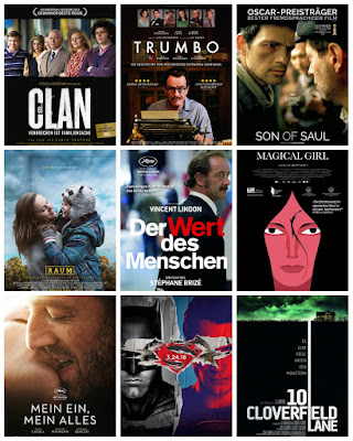 der cineast Filmblog Vorschau März 2016