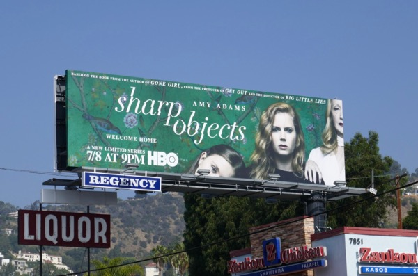Sharp Objects series premiere billboard