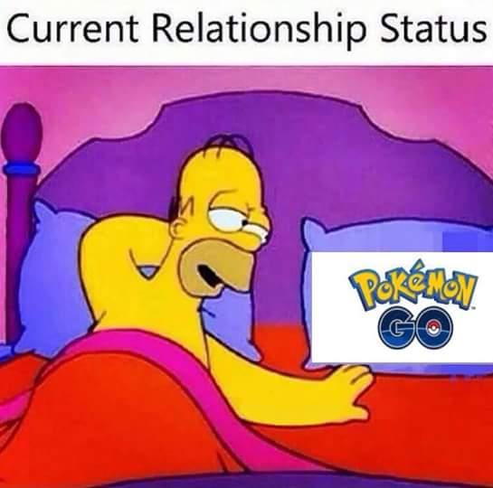 Current Relationship Status - Pokemon Go