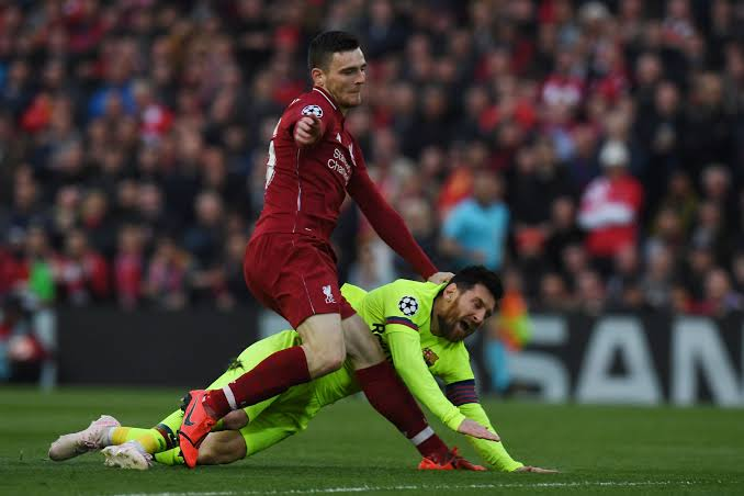 Liverpool defender Robertson: 'we don't want Messi anywhere near Premier League'