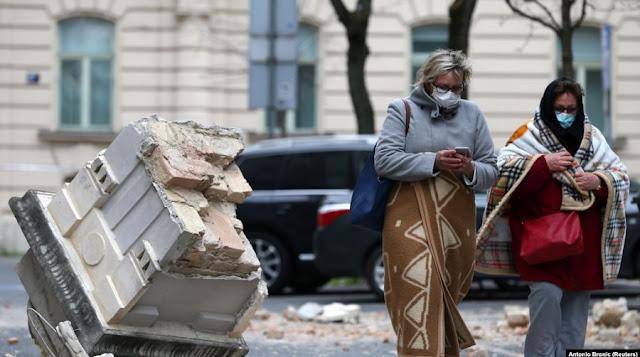Forte terremoto in Croazia, edifici crollati, persone nelle strade, muore un bambino di 15 anni