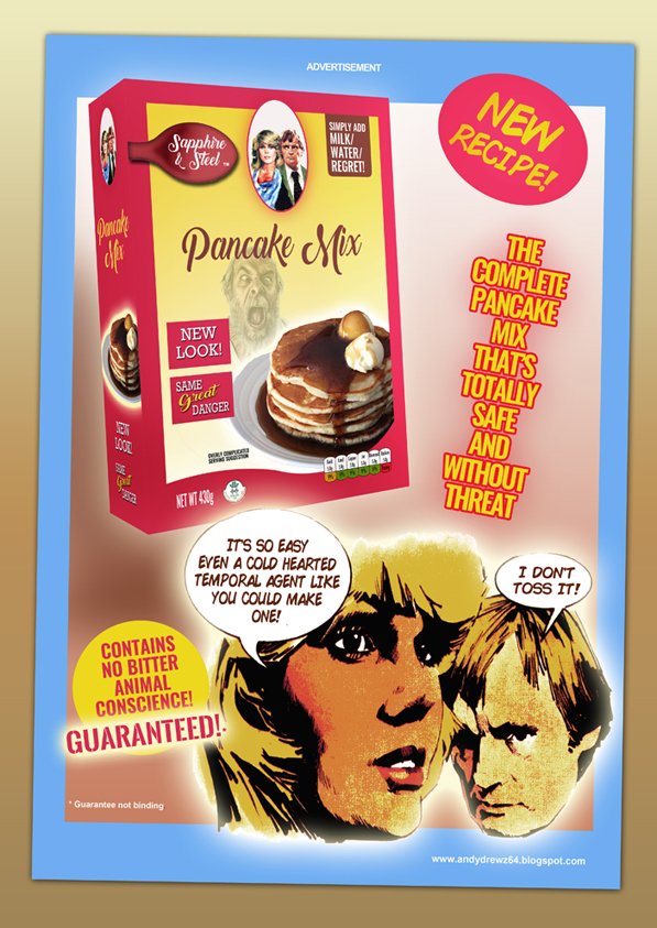 Andydrewzs pages celebrate the day with some sapphire and steel its pancake tuesday shrove day and what better way to celebrate than to dig up that old sapphire and steel gag ccuart Choice Image