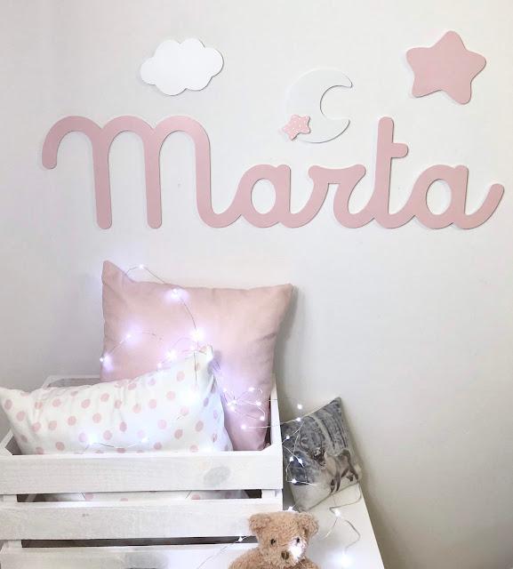Nombres de niña para decorar