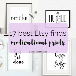 #motivationalmonday motivational quotes and prints to get you ready to tackle the upcoming finals! etsy motivational quotes. motivational print decor. motivational study space   brazenandbrunette.com