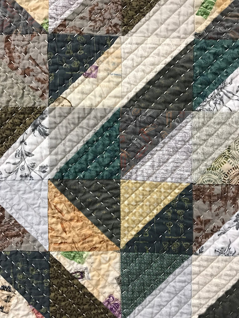 Handmade quilt by Lucinda Walker
