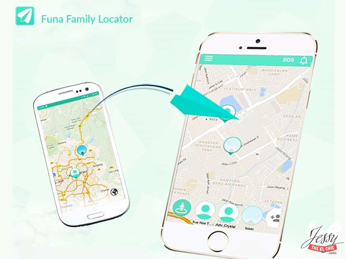 FUNA - The Ultimate Family Locator App