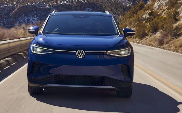 Volkswagen ID.4 tem autonomia aferida pela EPA (EUA): 260 milhas