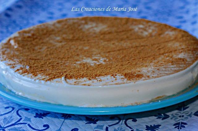 Tarta De Horchata Sin Horno