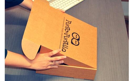 cajas para envios de ropa de niños