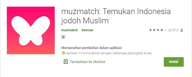 aplikasi cari jodoh islami terdekat