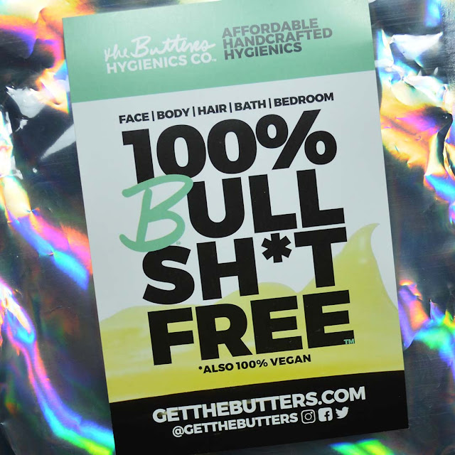the butters hygienics flyer on holographic packaging