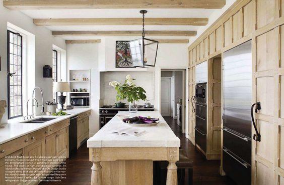 Friday favorites cerused kitchens petite haus for Kitchen design 70115