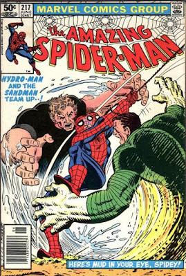 Amazing Spider-Man #217, Sandman and Hydro-Man
