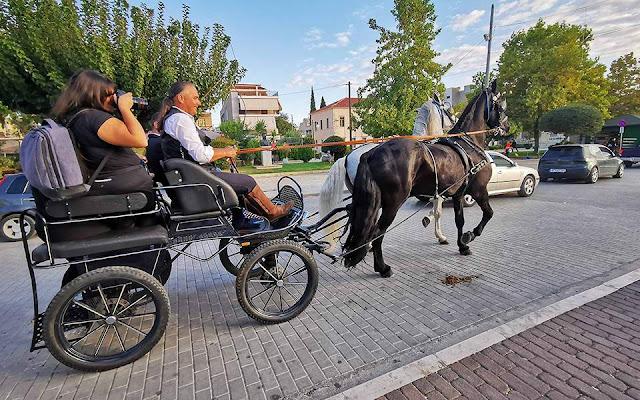 Ήγουμενίτσα: Άδεια από τον ΟΛΗΓ για ζωήλατη άμαξα στην παραλιακή της Ηγουμενίτσας