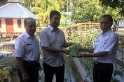 Camat Tempe Inisiasi Kawasan Sehat Terpadu, Yang Dibarengi Bantuan  Bibit Tanaman Dari Kadis Pertanian