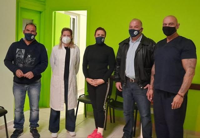 Με επιτυχία η 17η εθελοντική αιμοδοσία του Πολιτιστικού Συλλόγου Άριας