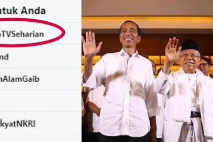 Jokowi-Ma'ruf Dilantik, Warganet Gaungkan #MatikanTVSeharian