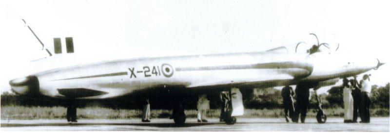 X-241 Wooden Glider - HF-24 Marut Aircraft Indian Air Force IAF - 001 - TN