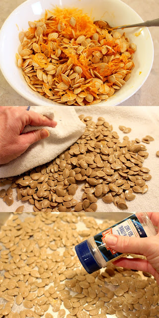 How to Make Pumpkin Puree and Roasted Pumpkin Seeds
